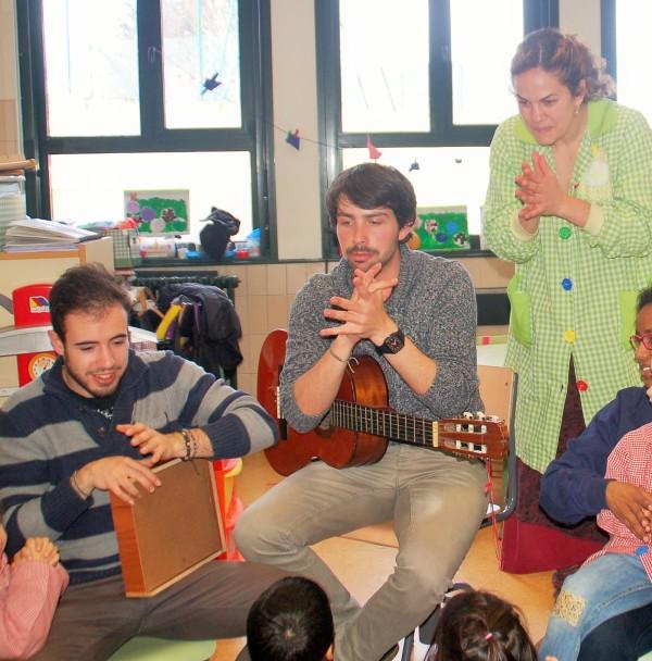 Percusión en el aula 3 años